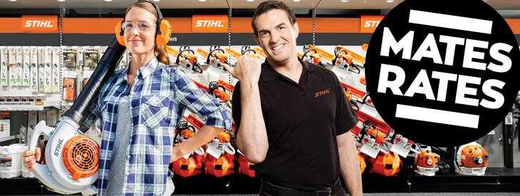 STIHL Blowers, ShredderVacs and Mistblowers