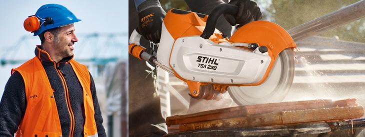 STIHL Cut-off Saws and Concrete Saws