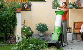 VIKING Elektryczne rozdrabniacze ogrodowe z mechanizmem rozdrabniającym