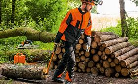 Sikkerheds- og skovjakker