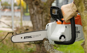 Cordless power systems chainsaws