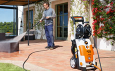 Electric high pressure cleaners (RE)