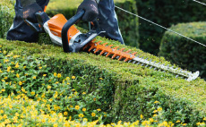 Cordless hedgetrimmer