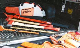 Protège-chaînes, sacoches et accessoires