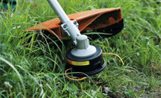 Replacement mowing line for brushcutters