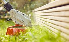 Akkumulátoros szegélynyíró kisebb kertekbe