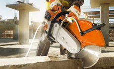 STIHL cut off machines