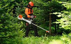 Pour travaux paysagers et forestiers