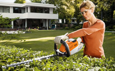 PRO cordless power system hedge trimmers