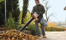 STIHL Electric Vacuum Shredders