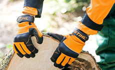 Protective and work gloves