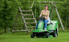 R4  Series - for lawns up to appox. 4000m²