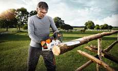 STIHL Innovative new Battery Chainsaws
