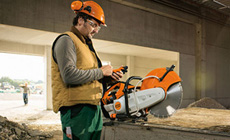 Machines de chantier STIHL