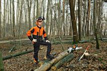 Костюм для роботи в лісі ECONOMY PLUS