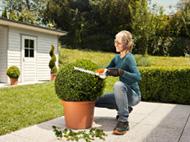 Cordless shrub and grass shears