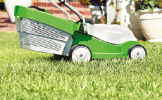 COMPACT cordless power system lawn mowers