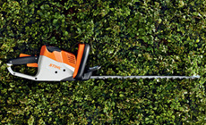 Compact Battery Hedge Trimmers
