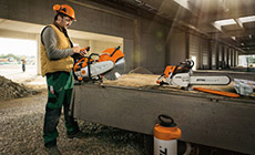 Cut-off saws, new concrete cutter and augers