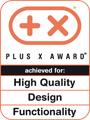 Plus X Award delar ut priser till produkter inom teknologi, sport och lifestyle. VIKING har fått utmärkelsen för hög kvalitet, design och enastående funktionalitet.