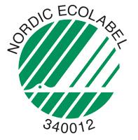 Svanenmärkningen är ett bevis på att vi med våra produkter aktivt arbetar för en hållbar produktion och att vi har uppfyllt Svanens tuffa miljökrav.