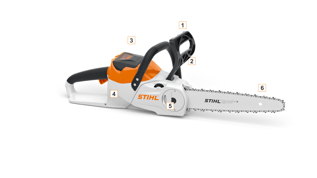 système de batterie stihl compact