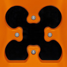 Otwór w kształcie czterolistnej koniczyny