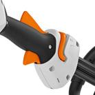 Empuñadura ergonómica con palanca de mando