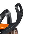 Proteção dianteira e freio da corrente