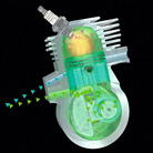 STIHL 2-MIX-motor met spoelsysteem