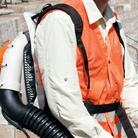 Ergonomic harness with hip belt