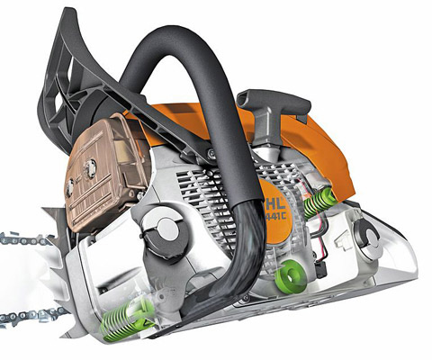 MS 180 - Light compact 1 5kW-Petrol chainsaw
