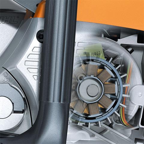 Energeticky efektívny elektrický motor