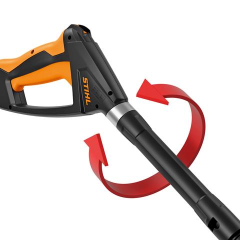 Regulowany pistolet ciśnieniowy