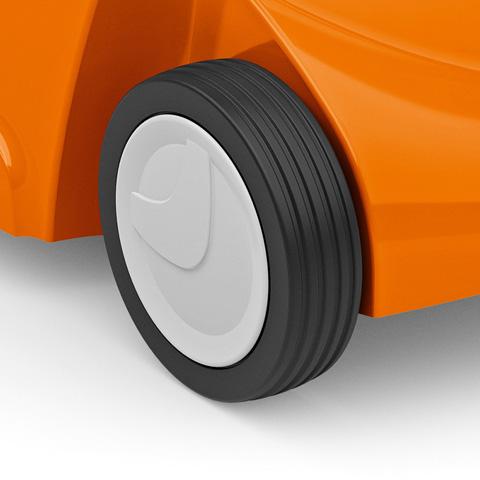 Grooved wheels