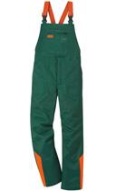 STANDARD Salopette, verde/arancione segnaletico
