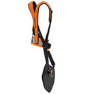 ADVANCE PLUS universal harness, fluorescent orange