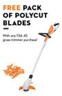 FSA 45 FREE PolyCut Blades