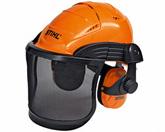 Helmset ADVANCE mit Metallgitter