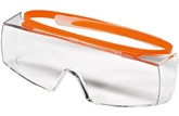 safety glasses SUPER OTG, clear