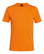 T-shirt LOGO CIRCLE oranje