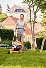Benzine grasmaaier RM 443 T