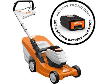 RMA 443 TC battery promo