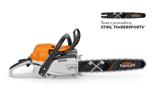 MS 261 C-M z prowadnicą STIHL Timbersports - promocja wiosenna