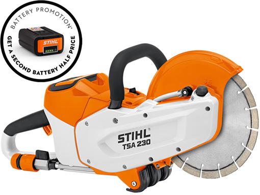 TSA 230 battery promo
