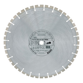 Diamond cutting wheel - Concrete / Asphalt (BA)