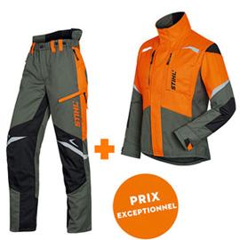 Pantalon + veste FUNCTION Ergo