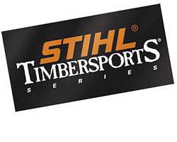 Наклейка STIHL TIMBERSPORTS®, 20 x 10 см