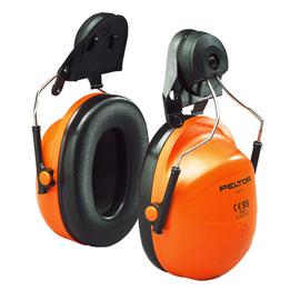 Hørselvern med hjelmfeste