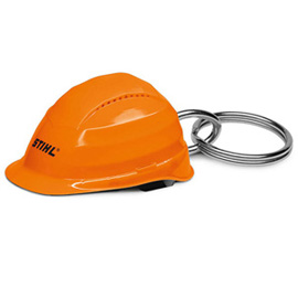 Safety helmet keyring